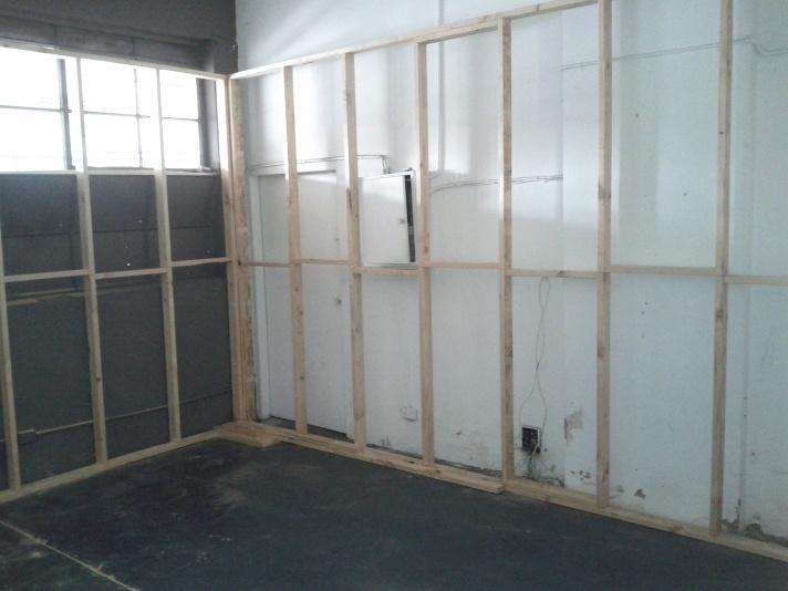 St Kilda Studio Under Construction