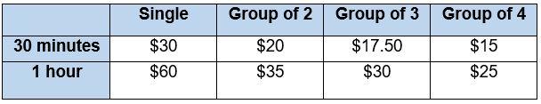School Pricing June 2018